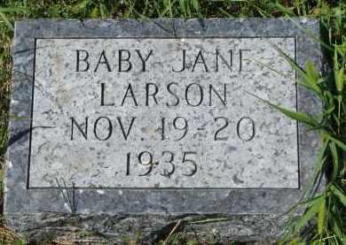 LARSON, JANE - Clay County, South Dakota | JANE LARSON - South Dakota Gravestone Photos