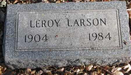 LARSON, LEROY - Clay County, South Dakota | LEROY LARSON - South Dakota Gravestone Photos