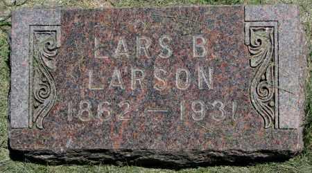 LARSON, LARS B. - Clay County, South Dakota | LARS B. LARSON - South Dakota Gravestone Photos