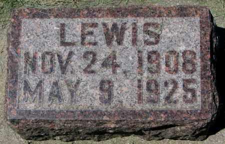 LARSON, LEWIS - Clay County, South Dakota | LEWIS LARSON - South Dakota Gravestone Photos