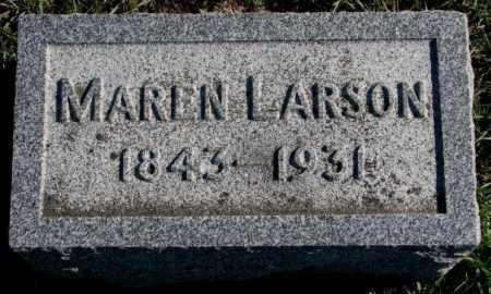LARSON, MAREN - Clay County, South Dakota | MAREN LARSON - South Dakota Gravestone Photos