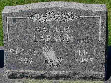 LARSON, MATILDA - Clay County, South Dakota | MATILDA LARSON - South Dakota Gravestone Photos