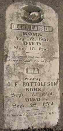 BOTTOLFSON, IRA - Clay County, South Dakota | IRA BOTTOLFSON - South Dakota Gravestone Photos