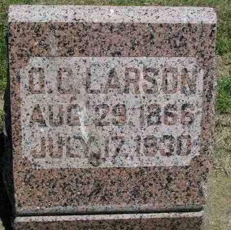 LARSON, O.C. - Clay County, South Dakota | O.C. LARSON - South Dakota Gravestone Photos
