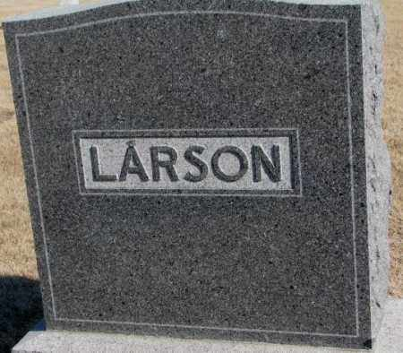 LARSON, PLOT - Clay County, South Dakota | PLOT LARSON - South Dakota Gravestone Photos