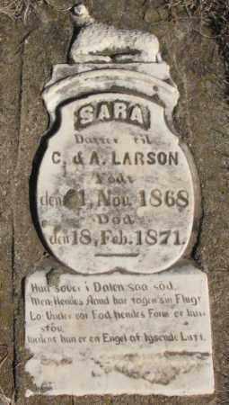 LARSON, SARA - Clay County, South Dakota | SARA LARSON - South Dakota Gravestone Photos