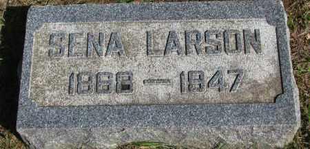 LARSON, SENA - Clay County, South Dakota | SENA LARSON - South Dakota Gravestone Photos