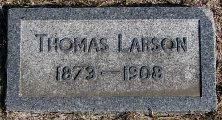 LARSON, THOMAS - Clay County, South Dakota   THOMAS LARSON - South Dakota Gravestone Photos