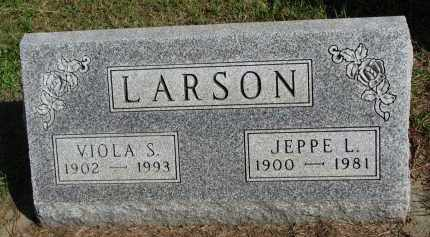LARSON, JEPPE L. - Clay County, South Dakota | JEPPE L. LARSON - South Dakota Gravestone Photos