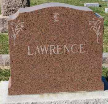 LAWRENCE, FAMILY STONE - Clay County, South Dakota | FAMILY STONE LAWRENCE - South Dakota Gravestone Photos