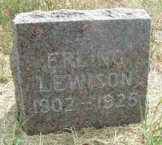 LEWISON, ERLING - Clay County, South Dakota | ERLING LEWISON - South Dakota Gravestone Photos