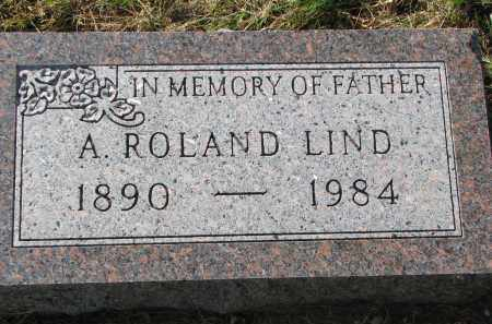 LIND, A. ROLAND - Clay County, South Dakota | A. ROLAND LIND - South Dakota Gravestone Photos
