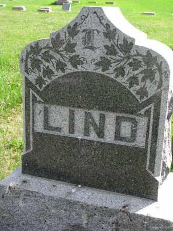 LIND, FAMILY STONE - Clay County, South Dakota | FAMILY STONE LIND - South Dakota Gravestone Photos