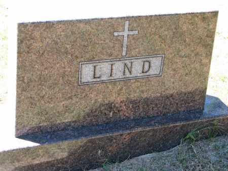 LIND, FAMILY STONE - Clay County, South Dakota   FAMILY STONE LIND - South Dakota Gravestone Photos