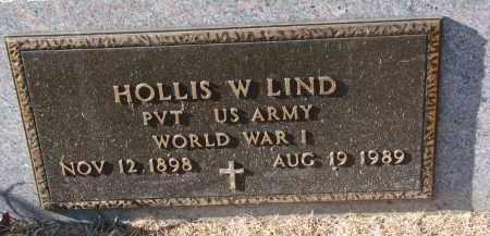 LIND, HOLLIS W. (WW I) - Clay County, South Dakota | HOLLIS W. (WW I) LIND - South Dakota Gravestone Photos