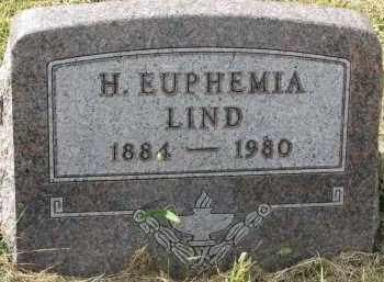 LIND, H. EUPHEMIA - Clay County, South Dakota | H. EUPHEMIA LIND - South Dakota Gravestone Photos