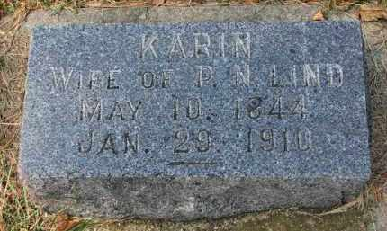 LIND, KARIN - Clay County, South Dakota | KARIN LIND - South Dakota Gravestone Photos