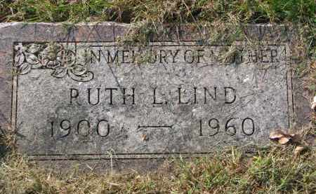 LIND, RUTH L. - Clay County, South Dakota | RUTH L. LIND - South Dakota Gravestone Photos