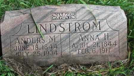 LINDSTROM, ANDERS M. - Clay County, South Dakota | ANDERS M. LINDSTROM - South Dakota Gravestone Photos