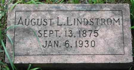 LINDSTROM, AUGUST L. - Clay County, South Dakota | AUGUST L. LINDSTROM - South Dakota Gravestone Photos