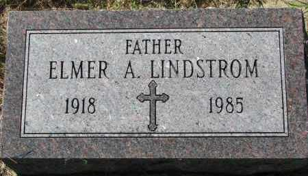 LINDSTROM, ELMER A. - Clay County, South Dakota | ELMER A. LINDSTROM - South Dakota Gravestone Photos