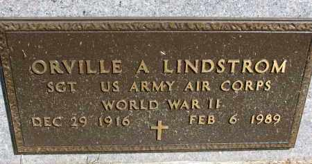 LINDSTROM, ORVILLE A. (WW II) - Clay County, South Dakota | ORVILLE A. (WW II) LINDSTROM - South Dakota Gravestone Photos