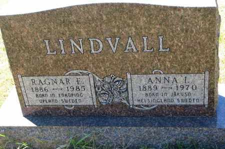 LINDVALL, RAGNAR F. - Clay County, South Dakota | RAGNAR F. LINDVALL - South Dakota Gravestone Photos
