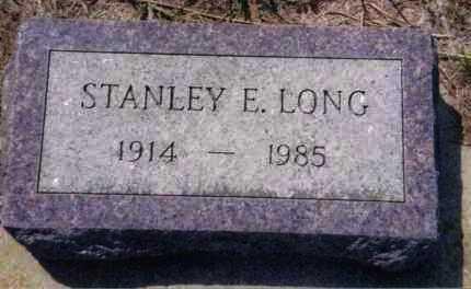LONG, STANLEY E. - Clay County, South Dakota | STANLEY E. LONG - South Dakota Gravestone Photos