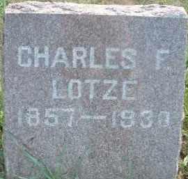 LOTZE, CHARLES F. - Clay County, South Dakota | CHARLES F. LOTZE - South Dakota Gravestone Photos
