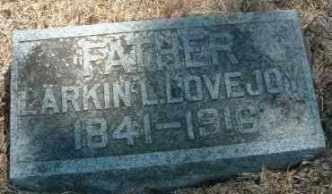 LOVEJOY, LARKIN L. - Clay County, South Dakota   LARKIN L. LOVEJOY - South Dakota Gravestone Photos