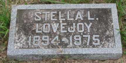 LOVEJOY, STELLA L. - Clay County, South Dakota | STELLA L. LOVEJOY - South Dakota Gravestone Photos