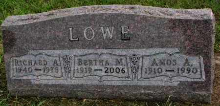 LOWE, BERTHA M. - Clay County, South Dakota   BERTHA M. LOWE - South Dakota Gravestone Photos