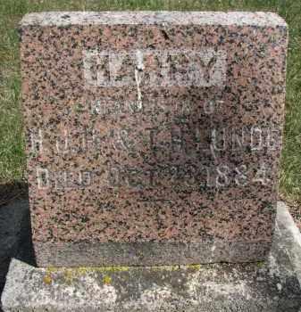 LUNDE, HARRY - Clay County, South Dakota   HARRY LUNDE - South Dakota Gravestone Photos