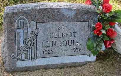 LUNDQUIST, DELBERT - Clay County, South Dakota | DELBERT LUNDQUIST - South Dakota Gravestone Photos