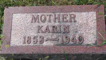 LUNDQUIST, KARIN - Clay County, South Dakota | KARIN LUNDQUIST - South Dakota Gravestone Photos