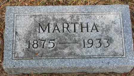 LYCKHOLM, MARTHA - Clay County, South Dakota | MARTHA LYCKHOLM - South Dakota Gravestone Photos