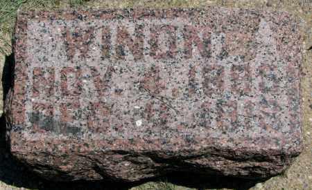 LYNCH, WINONA - Clay County, South Dakota | WINONA LYNCH - South Dakota Gravestone Photos