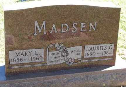 MADSEN, LAURITS G. - Clay County, South Dakota | LAURITS G. MADSEN - South Dakota Gravestone Photos