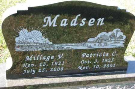 MADSEN, MILLAGE V. - Clay County, South Dakota | MILLAGE V. MADSEN - South Dakota Gravestone Photos