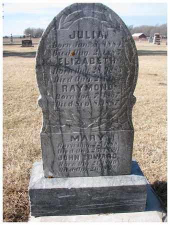 MANNING, ELIZABETH - Clay County, South Dakota | ELIZABETH MANNING - South Dakota Gravestone Photos