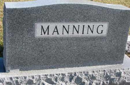 MANNING, PLOT - Clay County, South Dakota | PLOT MANNING - South Dakota Gravestone Photos