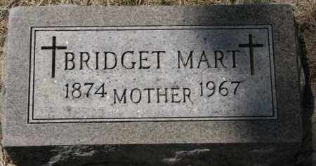 MART, BRIDGET - Clay County, South Dakota | BRIDGET MART - South Dakota Gravestone Photos