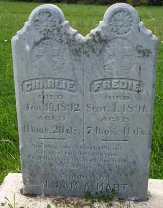 MART, CHARLIE - Clay County, South Dakota   CHARLIE MART - South Dakota Gravestone Photos