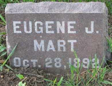MART, EUGENE J. - Clay County, South Dakota   EUGENE J. MART - South Dakota Gravestone Photos