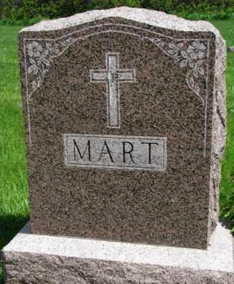 MART, FAMILY STONE - Clay County, South Dakota | FAMILY STONE MART - South Dakota Gravestone Photos