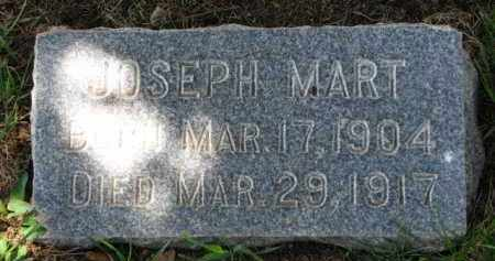 MART, JOSEPH - Clay County, South Dakota | JOSEPH MART - South Dakota Gravestone Photos