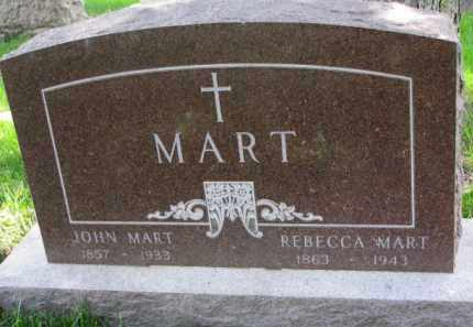 MART, REBECCA - Clay County, South Dakota | REBECCA MART - South Dakota Gravestone Photos