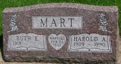 MART, RUTH E. - Clay County, South Dakota | RUTH E. MART - South Dakota Gravestone Photos
