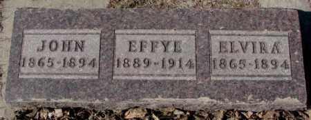 MARTUS, EFFYE - Clay County, South Dakota   EFFYE MARTUS - South Dakota Gravestone Photos