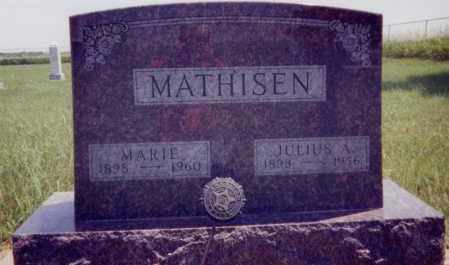 MATHISEN, JULIUS A. - Clay County, South Dakota | JULIUS A. MATHISEN - South Dakota Gravestone Photos
